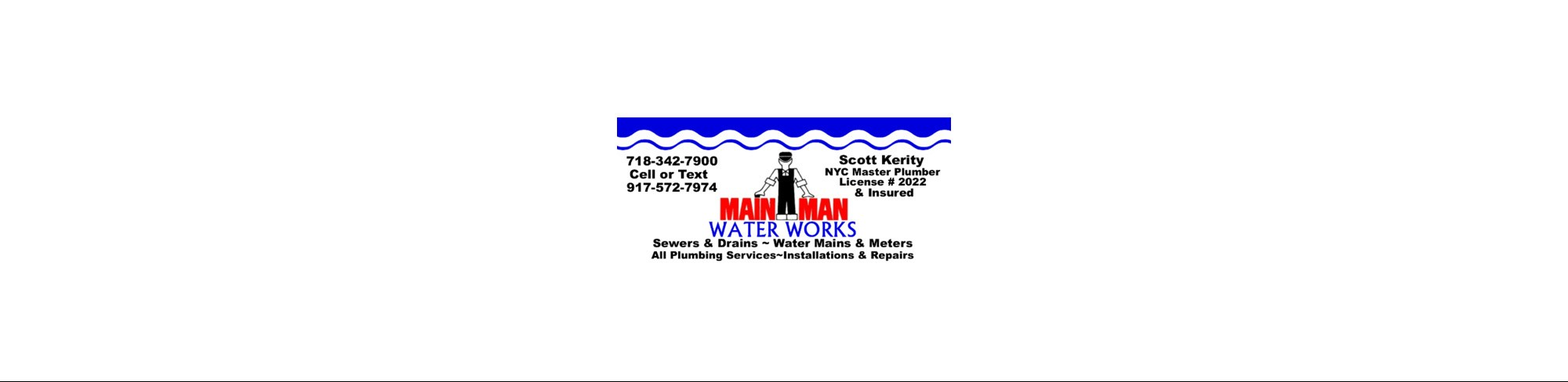 Main Man Water Main & Sewer Service